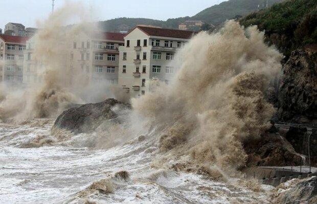 Ураган в Китаї, скріншот: YouTube