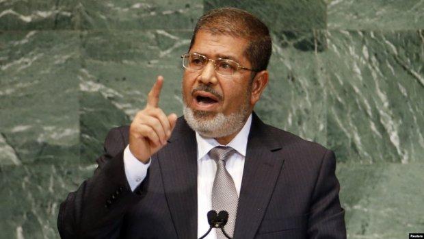 Помер екс-президент Єгипту Мухаммед Мурсі