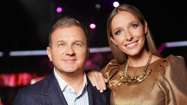 """Юрий Горбунов не спускает глаз с беременной Екатерины Осадчей даже на работе: """"Главное - поддержка"""""""