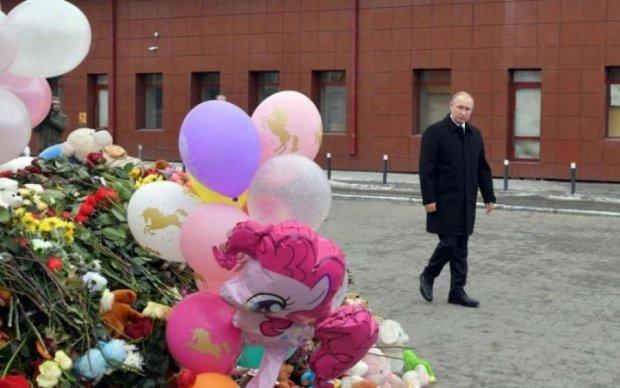 Говорити ні з ким: Пєсков пояснив поведінку Путіна в Кемерово