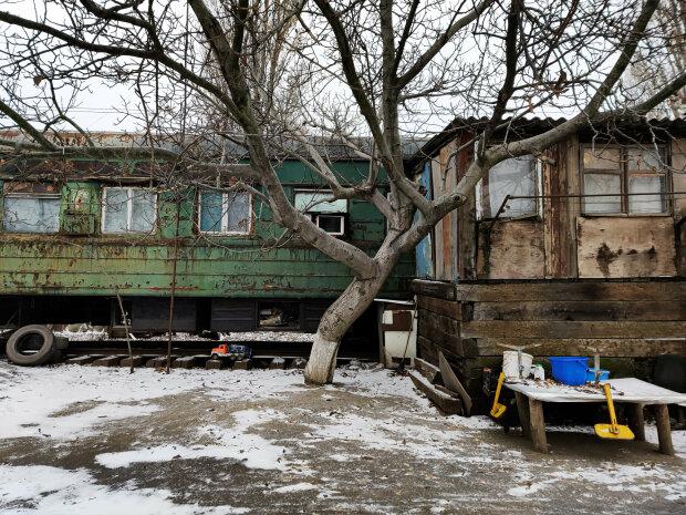 Вагонное городок в Усатово (Одесская область), фото: Facebook / Тарас Осипов