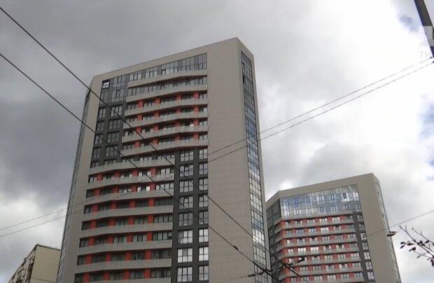 Многоэтажка, скриншот с видео