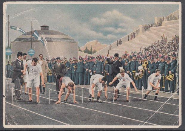 Боротьба, стрілянина і фехтування: як киянин Микола Ріттер приїхав на перші Олімпійські ігри