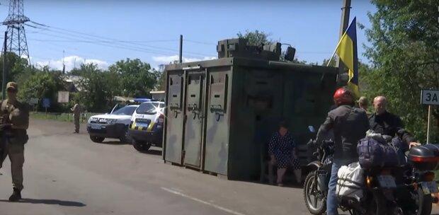 На Донбассе, фото: youtube