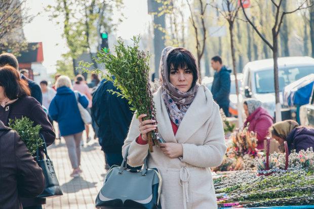 Киев празднует Вербное воскресенье: яркие кадры из центра столицы