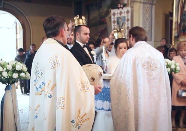 Скрин, видео YouTube венчание