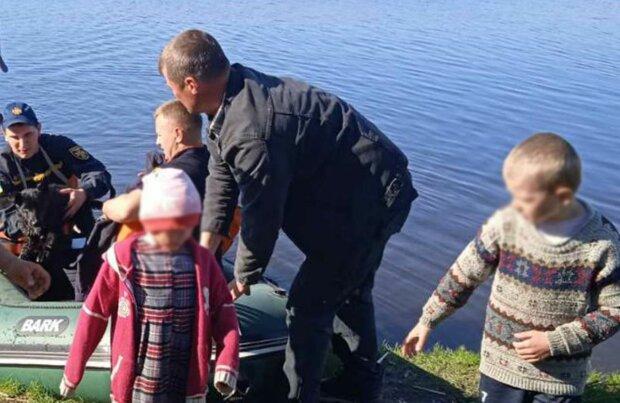 Порятунок дітей, фото: ДСНС України