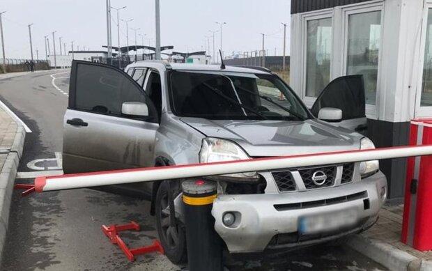 """авария на КПВВ """"Чонгар"""", фото dpsu.gov.ua"""