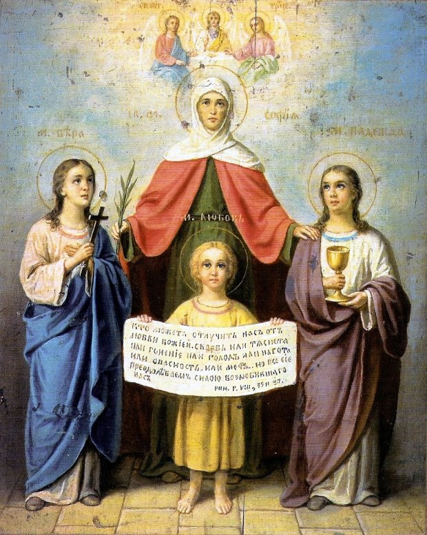 День Віри, Надії і Любові 2018: історія і традиції християн