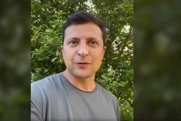 Владимир Зеленский, скриншот с видео