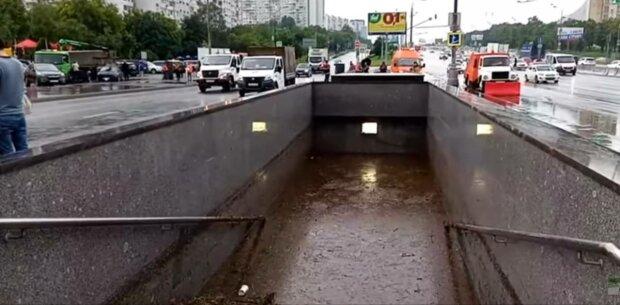 Подземный переход, фото: скриншот из видео