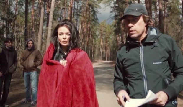 Певица Алина Гросу чуть не погибла на съемках клипа (фото)