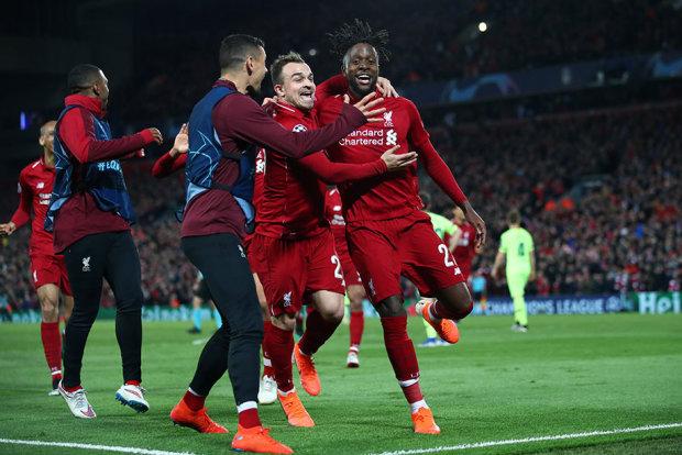 Ливерпуль в финал Лиги чемпионов вывел юный болбой: видео
