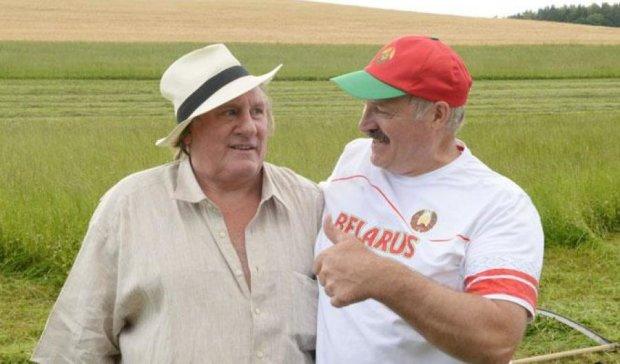Лукашенко дав два мільйони доларів на фільм з Депардьє