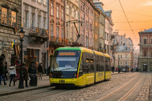 """Трамвай у Львові, фото """"Львів місто натхнення"""""""