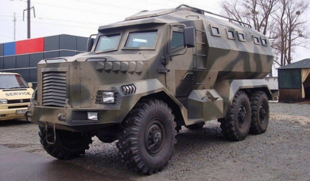 Украинские инженеры разработали новый броневик «Годзилла»