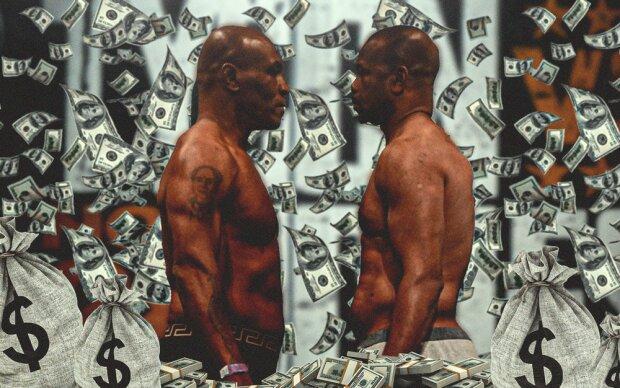 Майк Тайсон и Рой Джонс, фото: clutchpoints.com