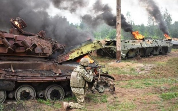 Ад на передовой: в пятичасовом бою погибло много украинских героев