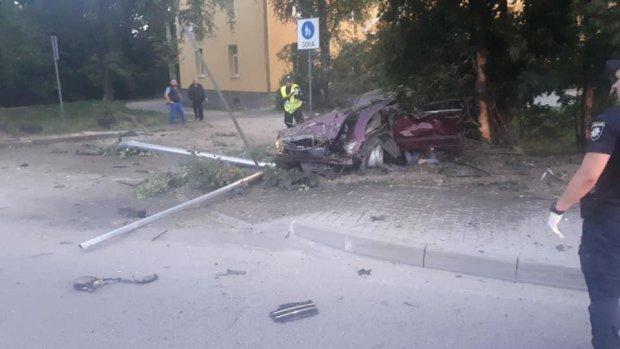 """Львовская подружка Зайцевой пыталась """"накивать колесами"""" с места ДТП: остановило дерево, жуткая смерть"""