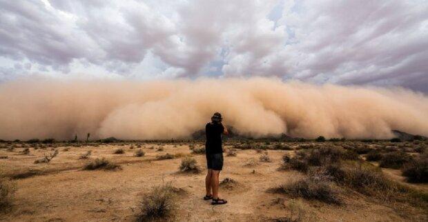 Пылевое облако, фото: pxhere