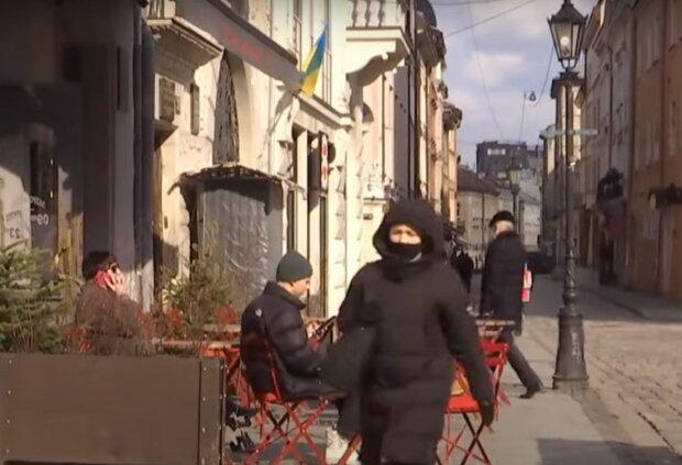 Карантин в Украине, скриншот: YouTube