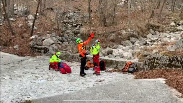 Рятувальна операція, фото: скріншот з відео