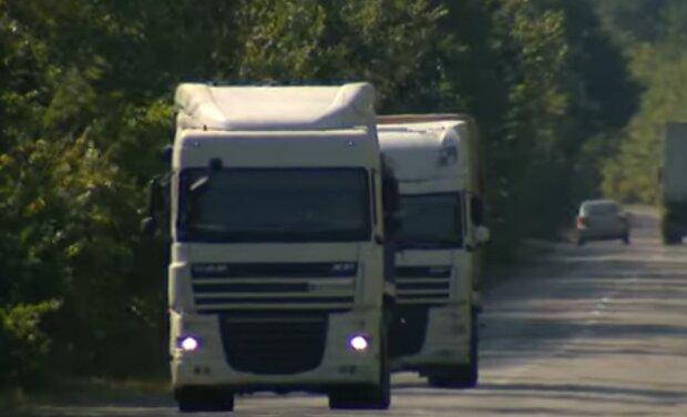 Вантажівки, скріншот: YouTube