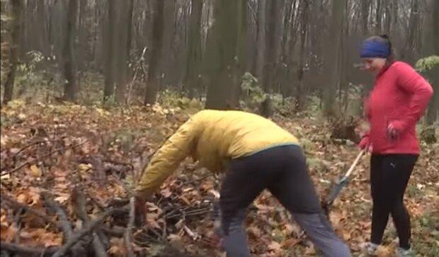 """""""Знайди граблі"""": спортсмени з Тернопільщини """"вилизали"""" ліс, жодного листочка"""