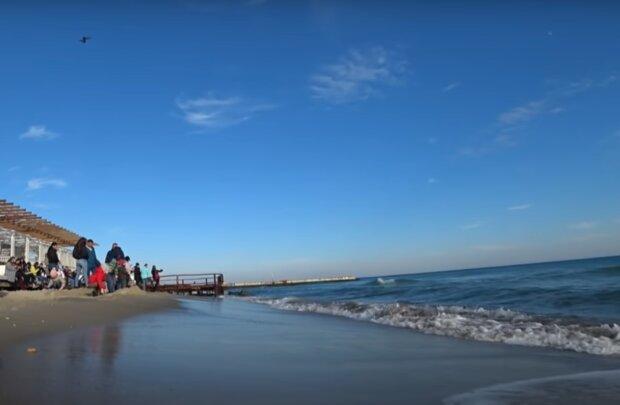 Відпочинок на морі, скріншот: YouTube