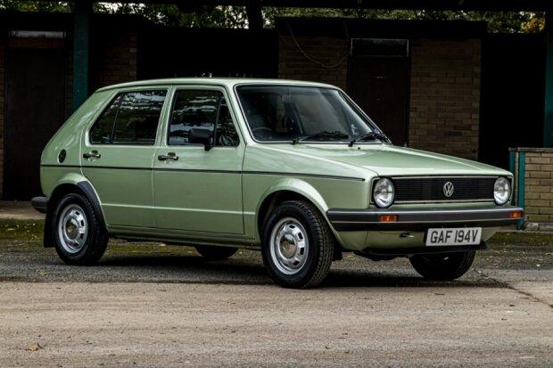 VW Golf Mk1, carscoops