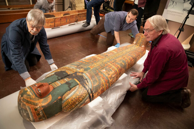 єгипетський саркофаг, фото Phys.org