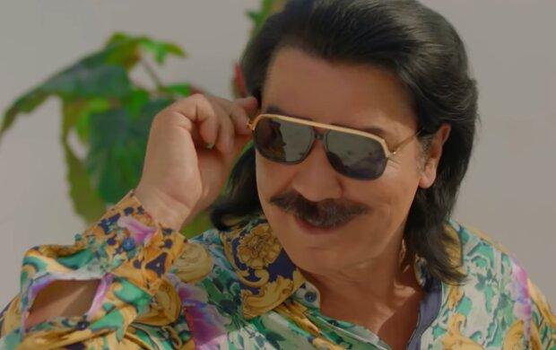 Павел Зибров, кадр из клипа