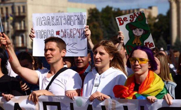 """""""Бунтуй, кохана"""": у Харкові пройшов марш рівності, фото та відео"""