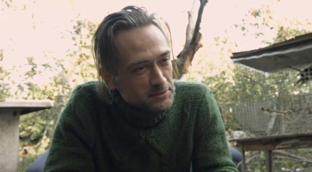 """Актер Пашинин после возвращения из АТО еле сводит концы с концами: """"Я нежный цветочек"""""""