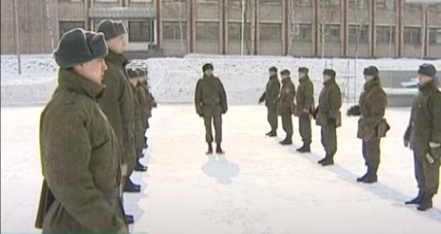 армия, скриншот из видео