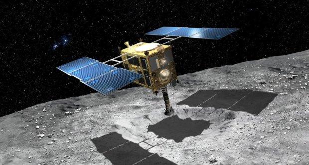 Зонд обнаружил пришельцев на астероиде Рюгу: между Землей и Марсом