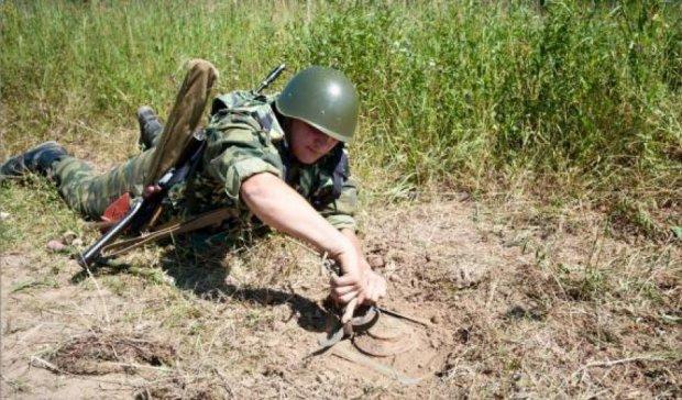 На Донбассе сохраняется тишина, идут работы по разминированию - пресс-центр АТО