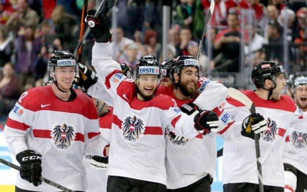 Чемпионат мира по хоккею: Обидчик Украины терпит поражение от австрийцев