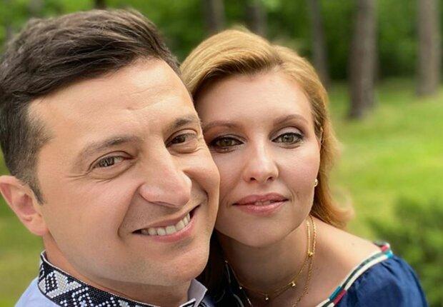 Владимир и Елена Зеленские, фото: Instagram