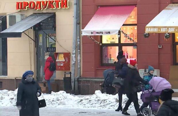 Карантин в Украине, кадр из видео