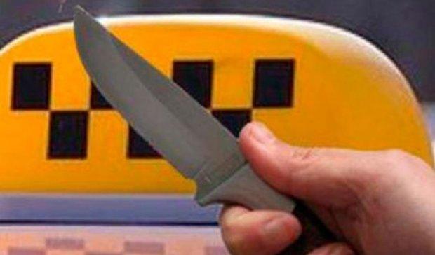 В Черновцах парень порезал таксиста, чтобы не платить деньги