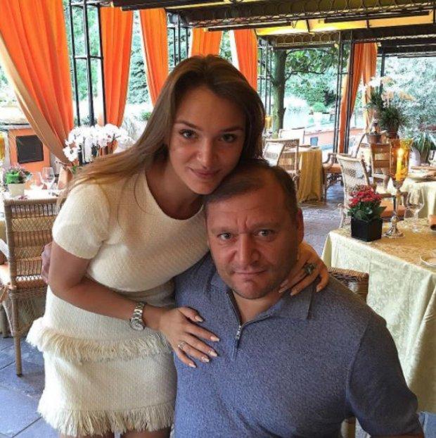 Михайло Добкін з дочкою Аллою