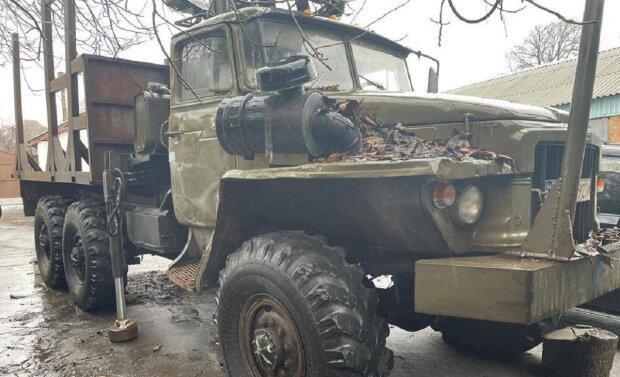 Автомобиль Урал, фото: Facebook ГБР