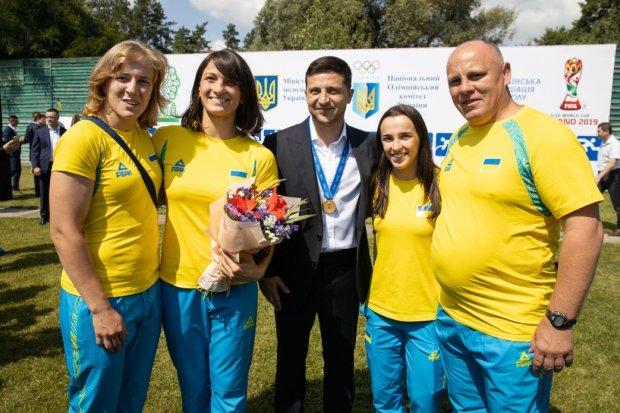 Владимир Зеленский встретился с украинскими спортсменами