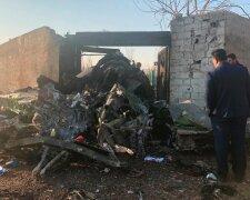 Крушение самолета МАУ в Иране, фото: Информатор