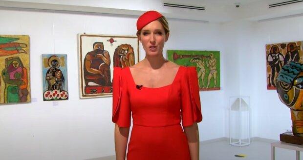 Катерина Осадча, скріншот з відео