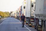 очередь грузовиков, фото: РБК-Украина