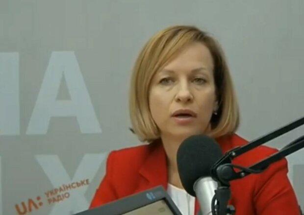 Марина Лазебная, скриншот с YouTube