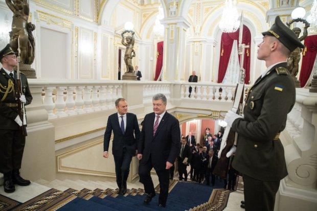 Зустріч Порошенка з Президентом Європейської Ради