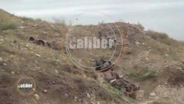 Бомбардування у Нагірному Карабаху, фото: кадри відео